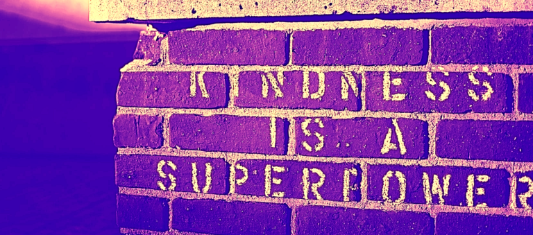 """""""kindness is a super power"""" graffiti as an analogy of management techniques for kindness"""